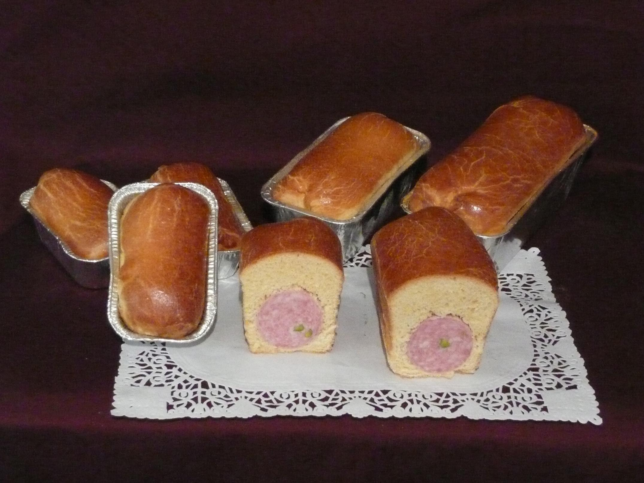 photo saucissons brioche